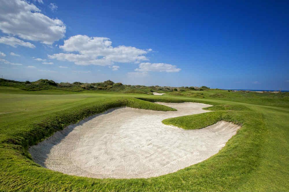 Bunker golf de Muscat Hills avec votre pro