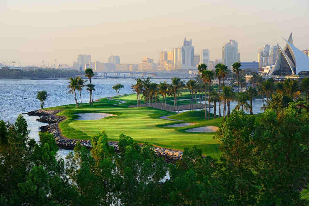 Golf de Dubai Creek pour votre sejours avec votre Pro
