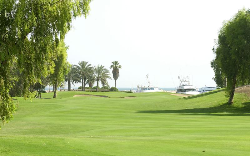 Fairways Jebel Ali golf à Dubai aux Emirats Arabes Unis