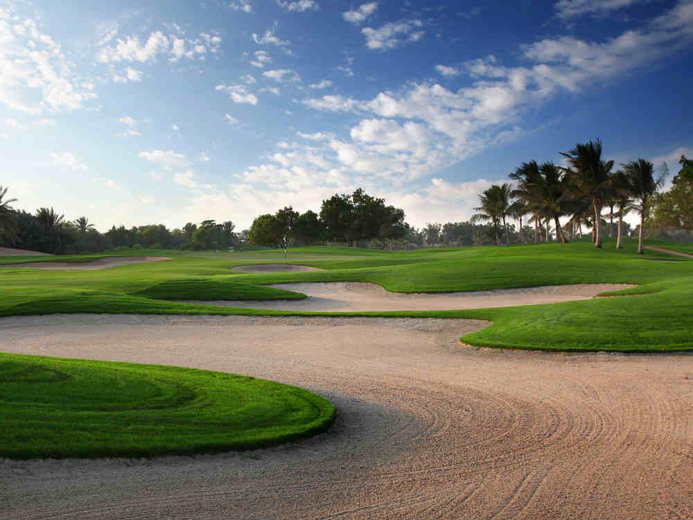 Bunker Golf d'Abu Dhabi avec votre pro