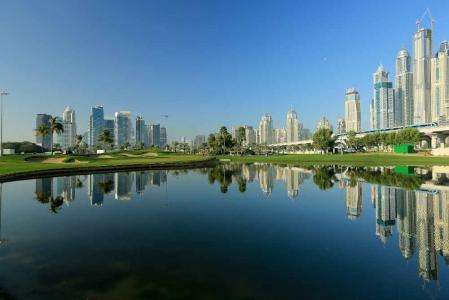 Vue sur la ville de Dubaï pour votre sejours avec votre Pro