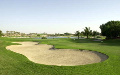 Bunker Jebel Ali golf à Dubai aux Emirats Arabes Unis