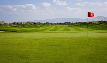 Parcours de golf à Muscat Al Mouj