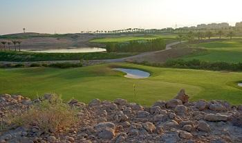 Parcours de golf à Oman Muscat Hills