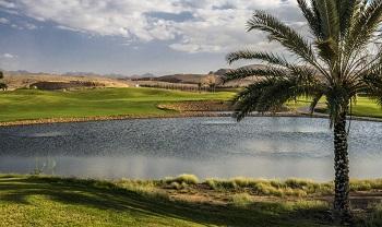 Parcours de Muscat Hills à Oman